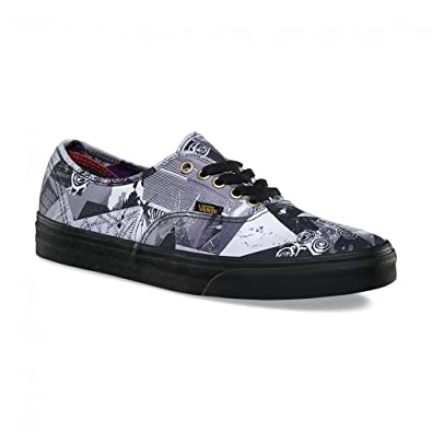 be965fb9b2d Image Unavailable. Image not available for. Color  Vans Authentic Abstract  Multicolor Black US Size Men ...