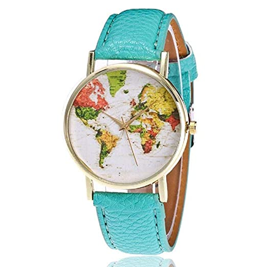 Mapa de Mujer Relojes Liquidación Relojes analógicos Femeninos a la Venta Relojes de