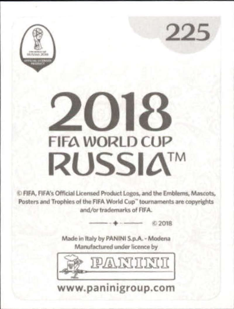 225 Panini WORLD CUP 2018 Rusia-Massimo Luongo Australia no