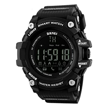 Sannysis Pulsera Deportes Bluetooth Smartwatch impermeable ...