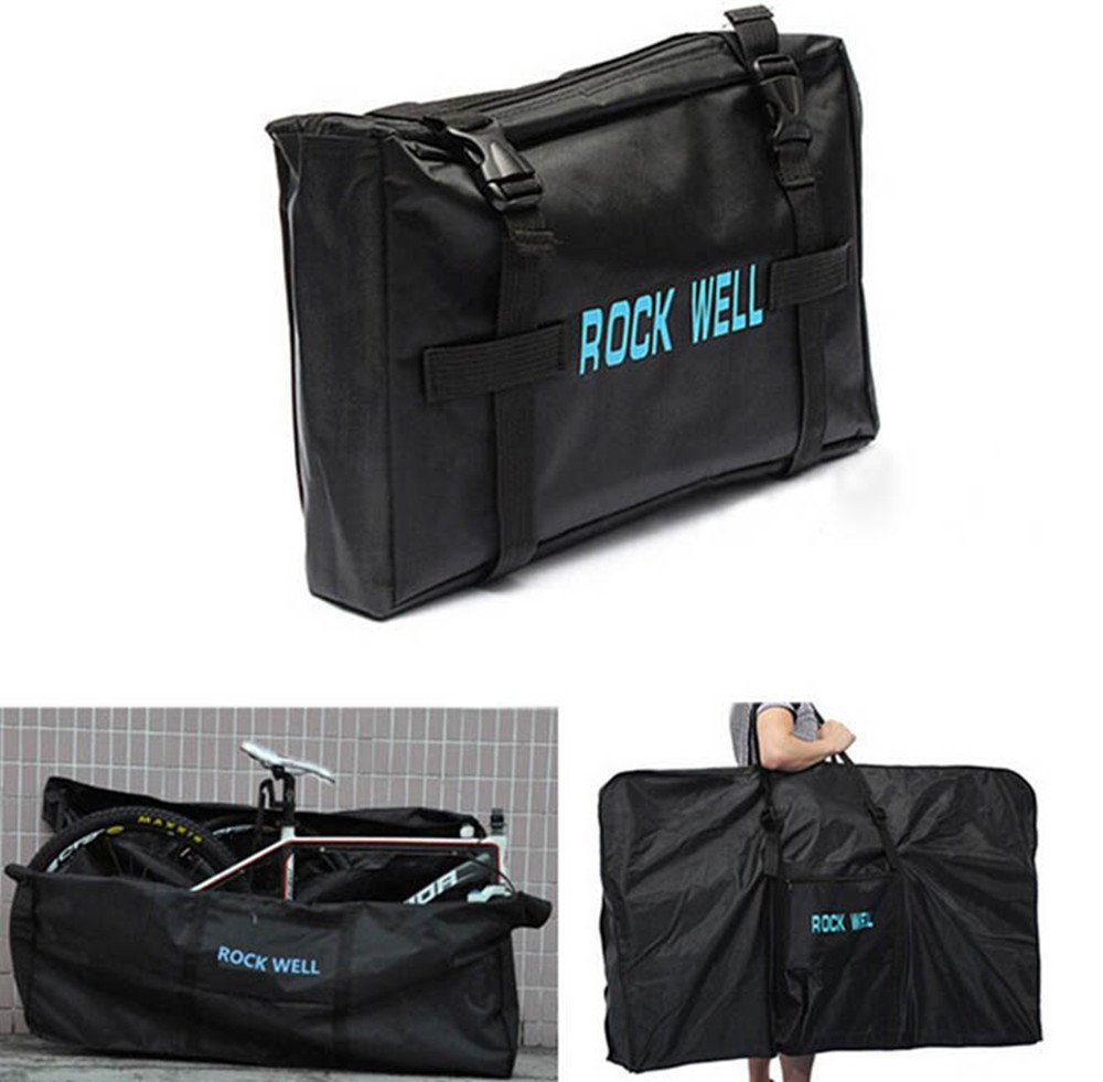 UNHO 26'' Folding Bike Carrier Bag Bicycle Travel Luggage Bag for Mountain Bikes Carry by UNHO (Image #7)