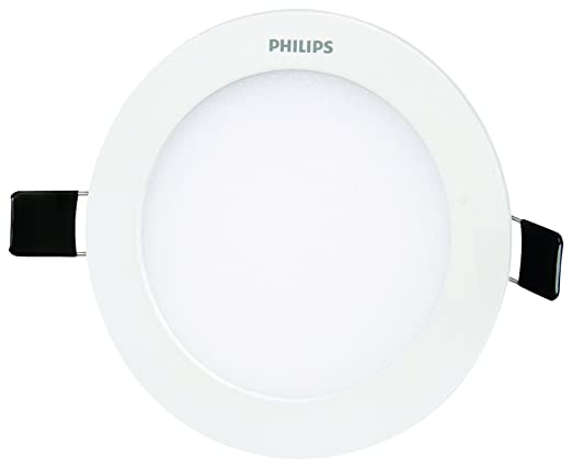 Philips Ultra Slim Plus 12-Watt Recessed LED Panel (Cool Day Light, Round) Lighting Fixtures at amazon