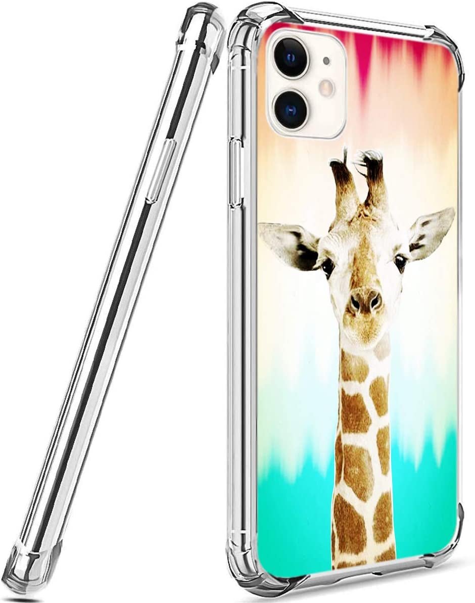 iPhone SE/5S/5 Case, Jolook 360 Full Body Protection Slim Case with Design for iPhone SE/5S/5 -Identity of Giraffe