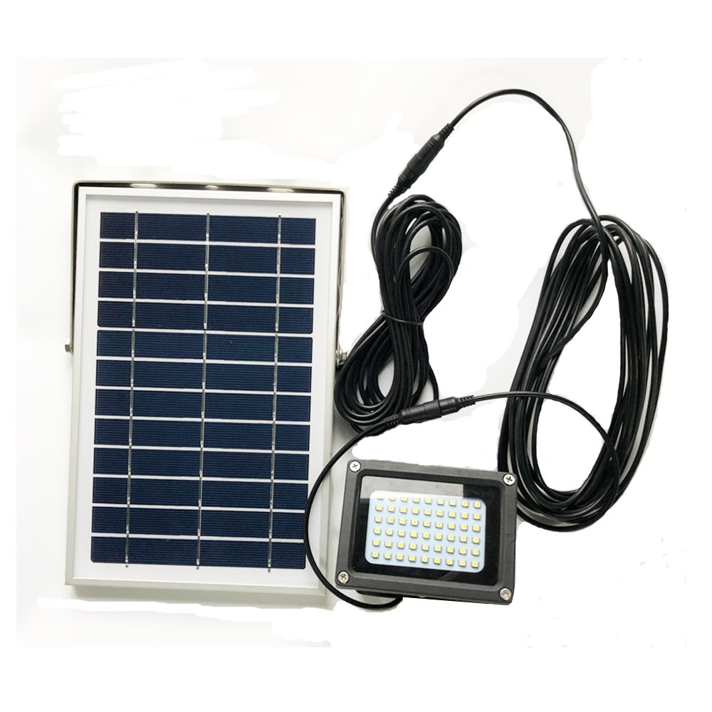 Solar Extension Cable Waterproof IP65 16ft Extension Cord For Solar Flood Light Solar Spotlights Semilits