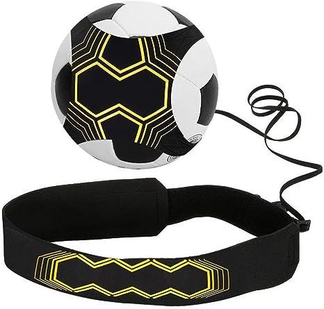 Football Kick  Trainer Solo Practice Aid Control Skill Adjustabl Waist Belt
