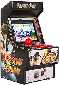 Amazon.es: King Bomb Mini Consola de Juegos Arcade 156 Juego clásico Consola de Juegos portátil 700MAH batería de Litio Recargable Pantalla de 2.8 Pulgadas para niños y Adultos (Negro)
