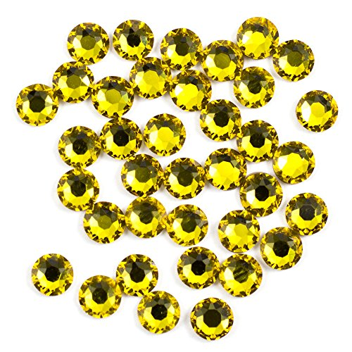 Swarovski - Create Your Style Hotfix 3mm Sunflower 3 packages of 38 Piece (114 Total Crystals)