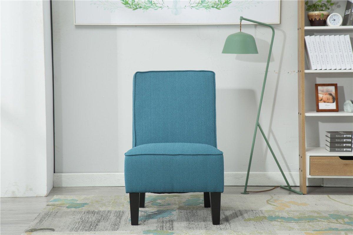 Amazon.com: Sillón sin reposabrazos sillas de sala de estar ...
