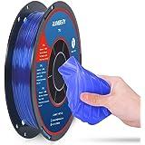 TPU Filament 1.75mm Flexible TPU 3D Printer Filament Dimensional Accuracy +/- 0.03 mm, 0.5kg Spool, 1.75 mm (Sapphire Blue)