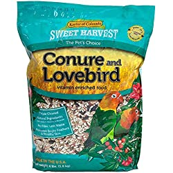 Sweet Harvest Conure and Lovebird Bird Food