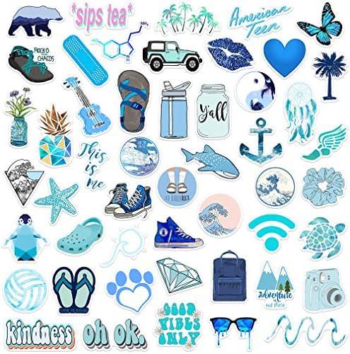 Stickers 50 Pack Aesthetic Waterproof Skateboard