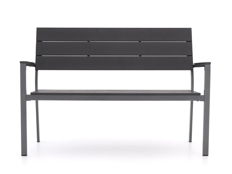 Amazon.de: Bellagio Bravo Gartenbank 2 Sitzer 128 cm (Grau)