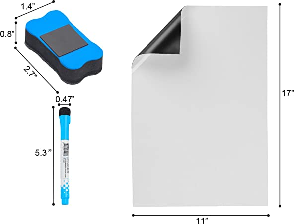 Tableau blanc magnétique pour Frigo,Listes De Courses Ou Une ...