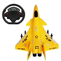 Amitasha Battery Operated Jet Aeroplane Toy for Kids (Light)