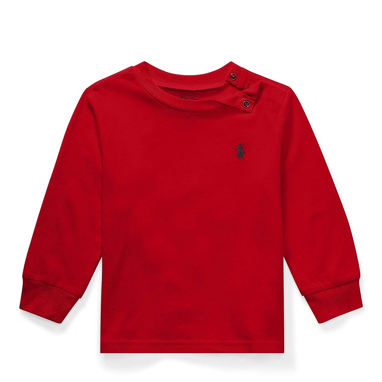 Ralph Lauren Little Boys Polo Long Sleeve Cotton Tee