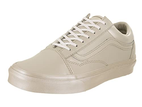 1223f52593efac Vans Women s Old Skool (Metallic Sidewall) Skate Shoe Cement 9 M US Women