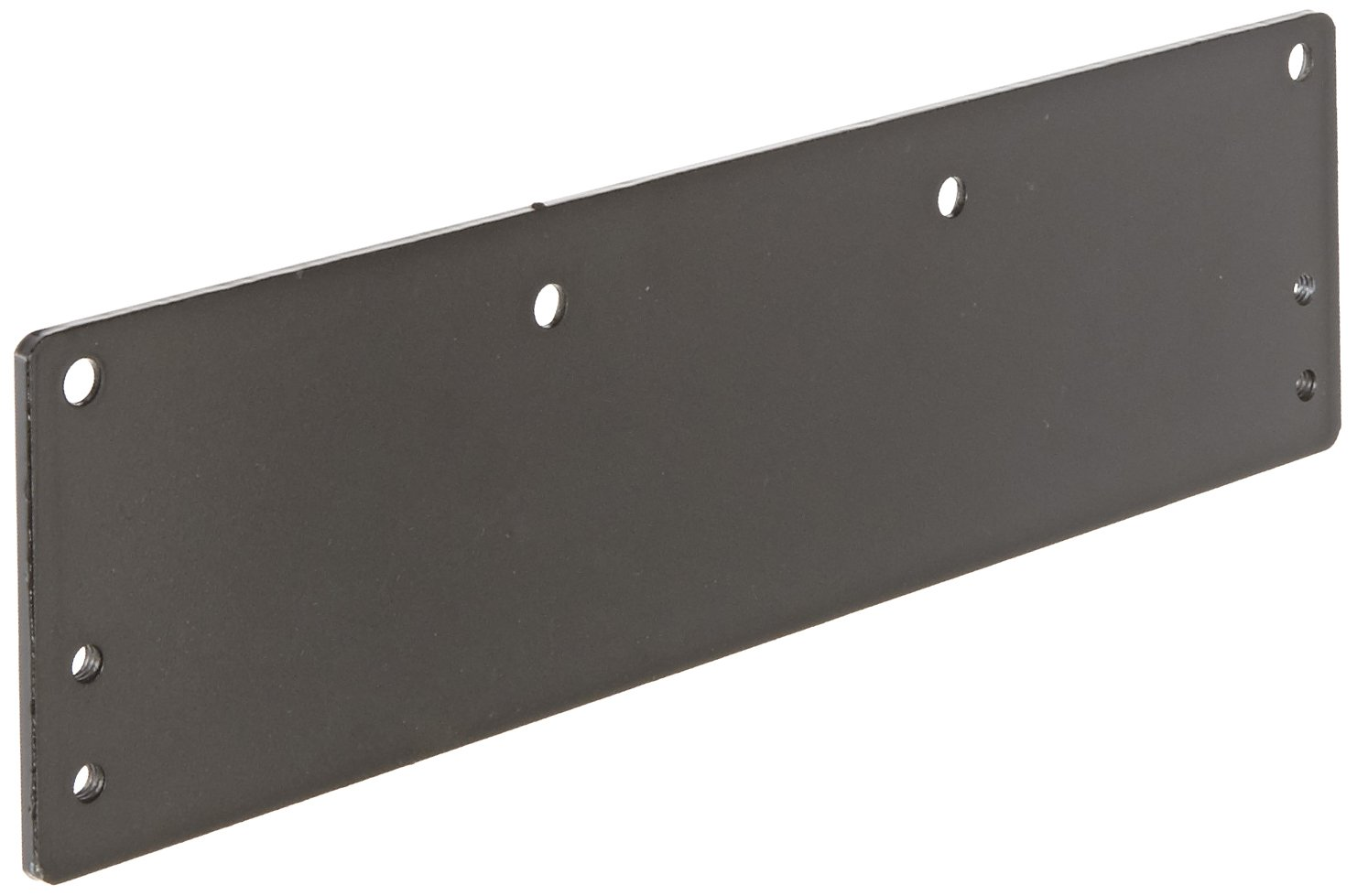 """Stanley Commercial Hardware Large Drop Plate Kit for QDC200 Series Heavy Duty Door Closers, Pull and Push, 3.47"""" Width, 12.97"""" Height, Painted"""