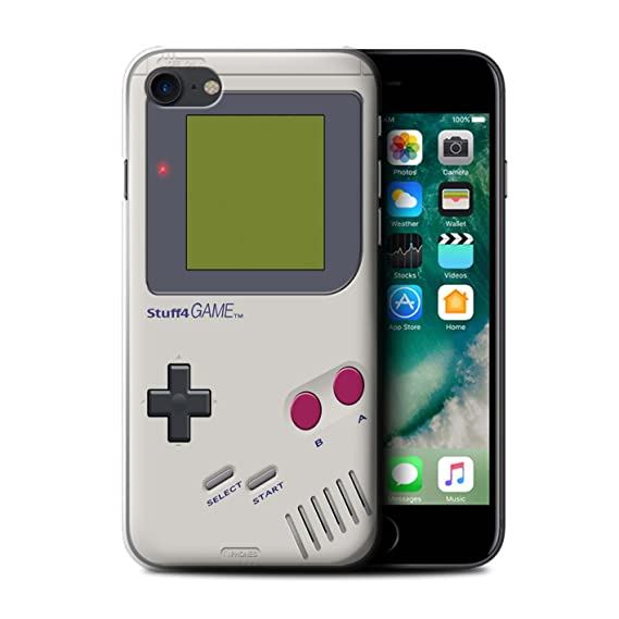 huge selection of 5a72a 93f0b Amazon.com: STUFF4 Phone Case / Cover for Apple iPhone 7 / Nintendo ...