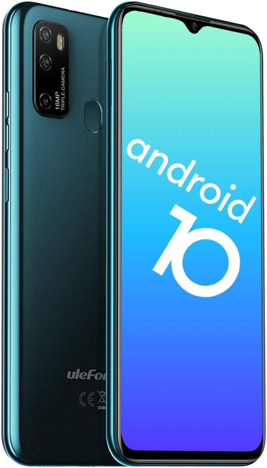 Teléfono Móvil Libres 4G, Ulefone Note 9P Android 10 Octa-Core Smartphone Libre, Pantalla HD+ de 6.52