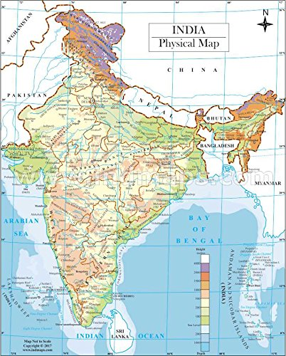 India physical map amazon electronics gumiabroncs Image collections