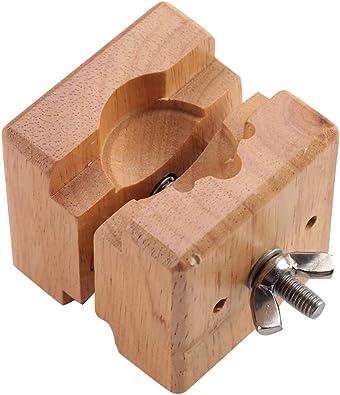 TMISHION Soporte para Movimiento del Reloj, Caja de Reloj de Madera Profesional Tenedor de Bloque Soporte de Reloj Reparación de Herramientas de relojero: Amazon.es: Joyería