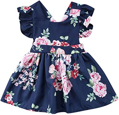 SSZZoo Toddler Kids Clothes Sets,Baby Girls Floral Crop Tops+Hole Denim Pants Jean Short