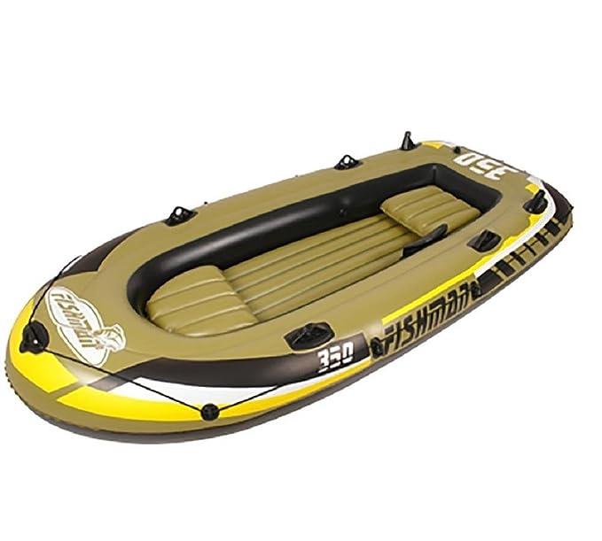 wenrit Juego de barco hinchable para kayak, barco de pesca ...