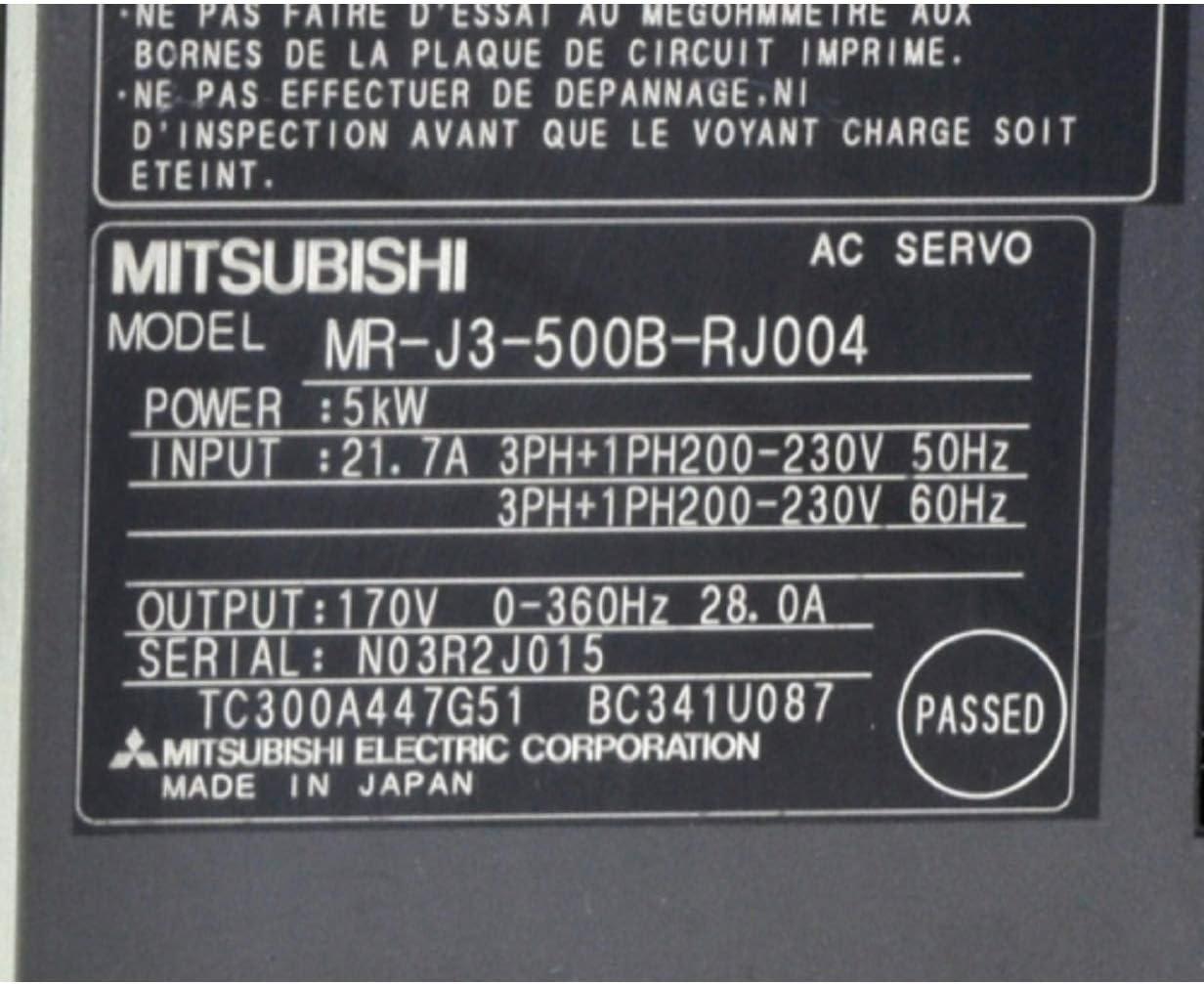 (修理交換用 )適用する MR-J3-500B-RJ004 サーボドライバサーボアンプ MR-Jシリーズ MRJ3500BRJ004