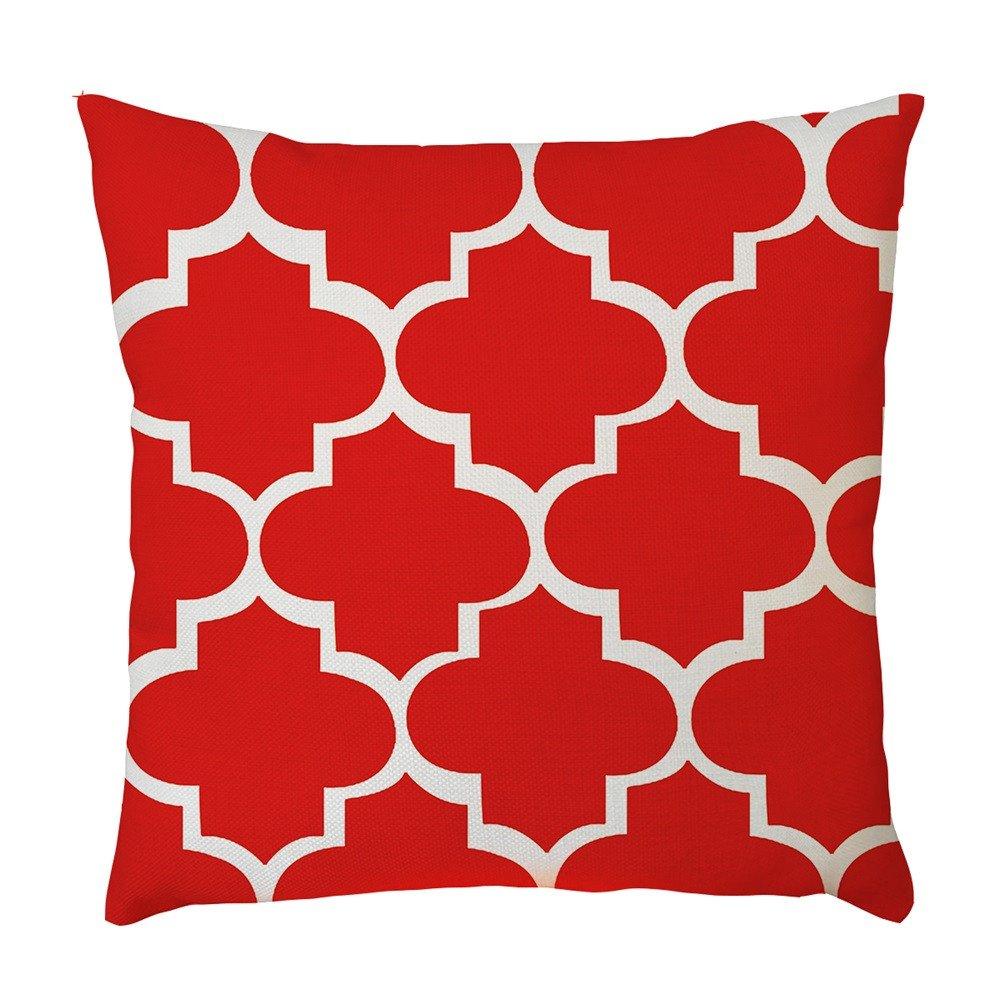 Duseedik for Him Exquisite Pillow Case Waist Cushion Cover Sofa Home Decor by Duseedik (Image #1)