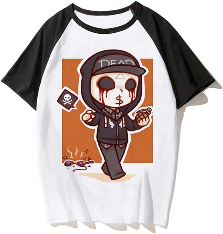 TXS Slipknot Banda Camiseta Manga Corta Hombres Cuello ...