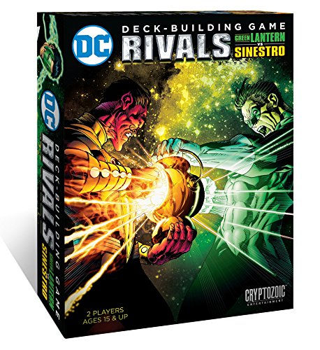 Cryptozoic Entertainment DC Deck Building Game Rivals - Green Lantern vs Sinestro