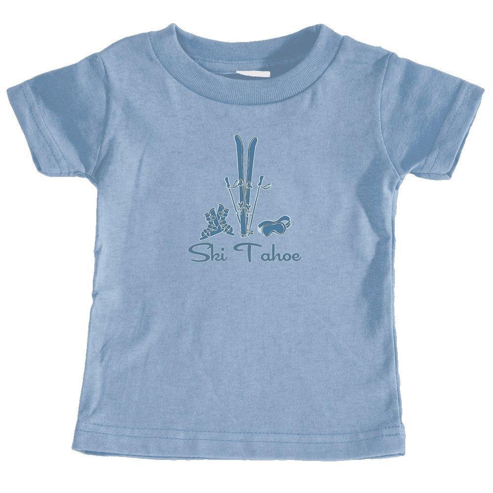 Unisex Infant T-Shirt California Vintage Snow Ski Ski Tahoe