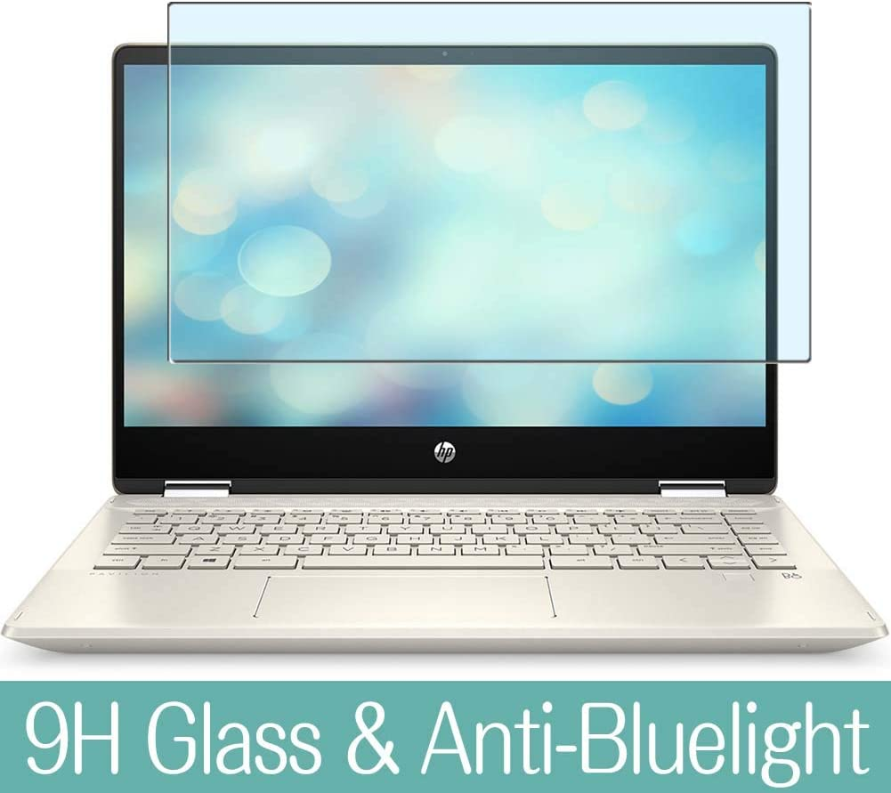 Synvy Anti Blue Light Tempered Glass Screen Protector for HP Pavilion x360 14m-dh0000 / dh0001dx / dh0003dx 14