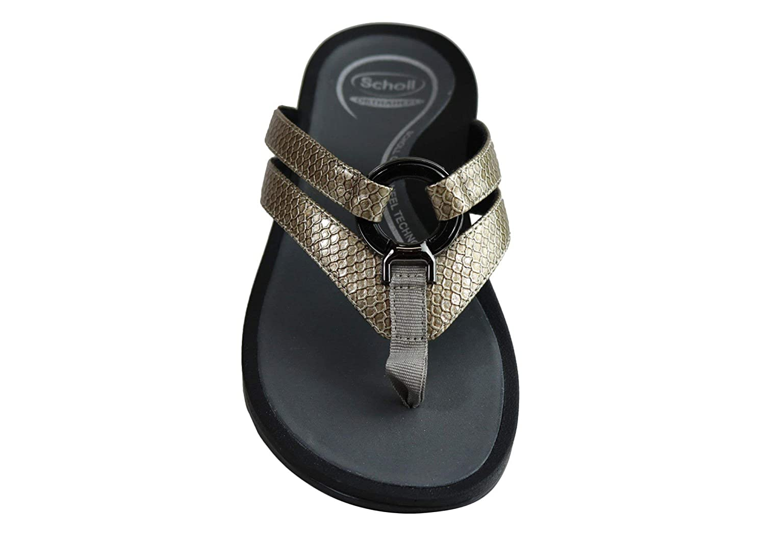a7f2547d6bc2e Scholl Orthaheel Tonga II Womens Supportive Comfortable Thongs Sandals  Black  Amazon.com.au  Fashion