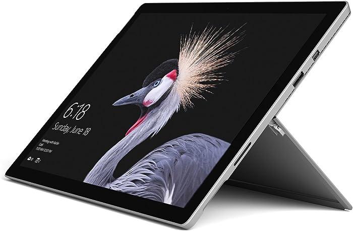 "Microsoft Surface Pro FJR-00001 Laptop (Windows 10 Pro, Intel Core M, 12.3"" LCD Screen, Storage: 128 GB, RAM: 4 GB) Black"