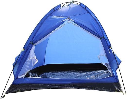 Zhicaikeji Tienda de campaña Mochila de Camping Ligera Tienda de campaña Deportiva Tienda de cúpula de Temporada Carpa para Camping (Color : Blue): Amazon.es: Hogar