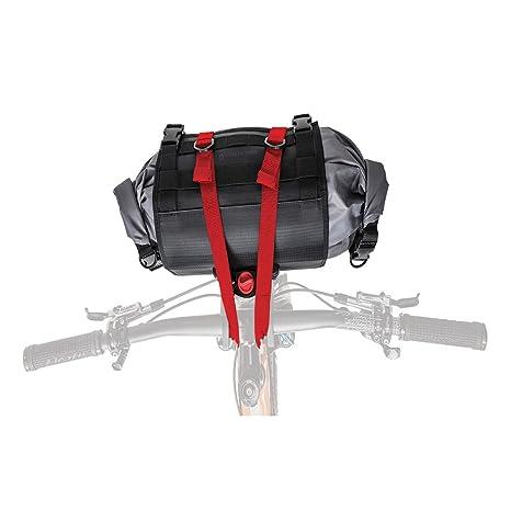 Lomo 12L Double Ended Cycling Roll Closure Drybag Bikepacking Handlebar Bag
