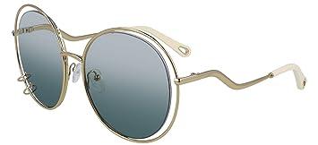 Gafas de Sol Chloé WENDY CE153S GOLD/BLUE GREEN ...