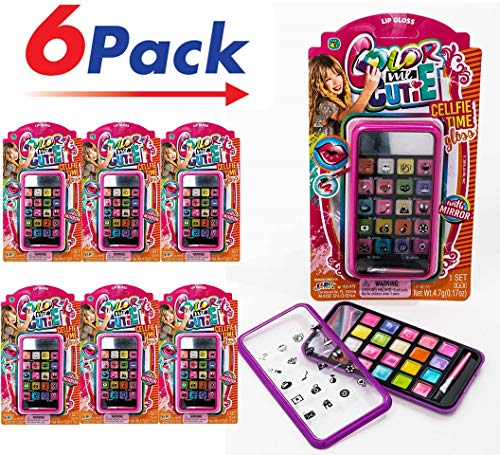 JaRu Makeup Beauty Color (Pack of 6) Girl Professional Makeup | Item #4645-6