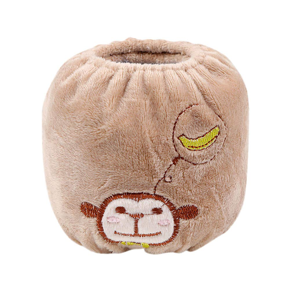 BingYELH Baby Oversleeves Autumn Winter Long Cuff Cartoon Sleeve Anti-fouling Cleaning Housework Cuff Cute Animal Sleeve