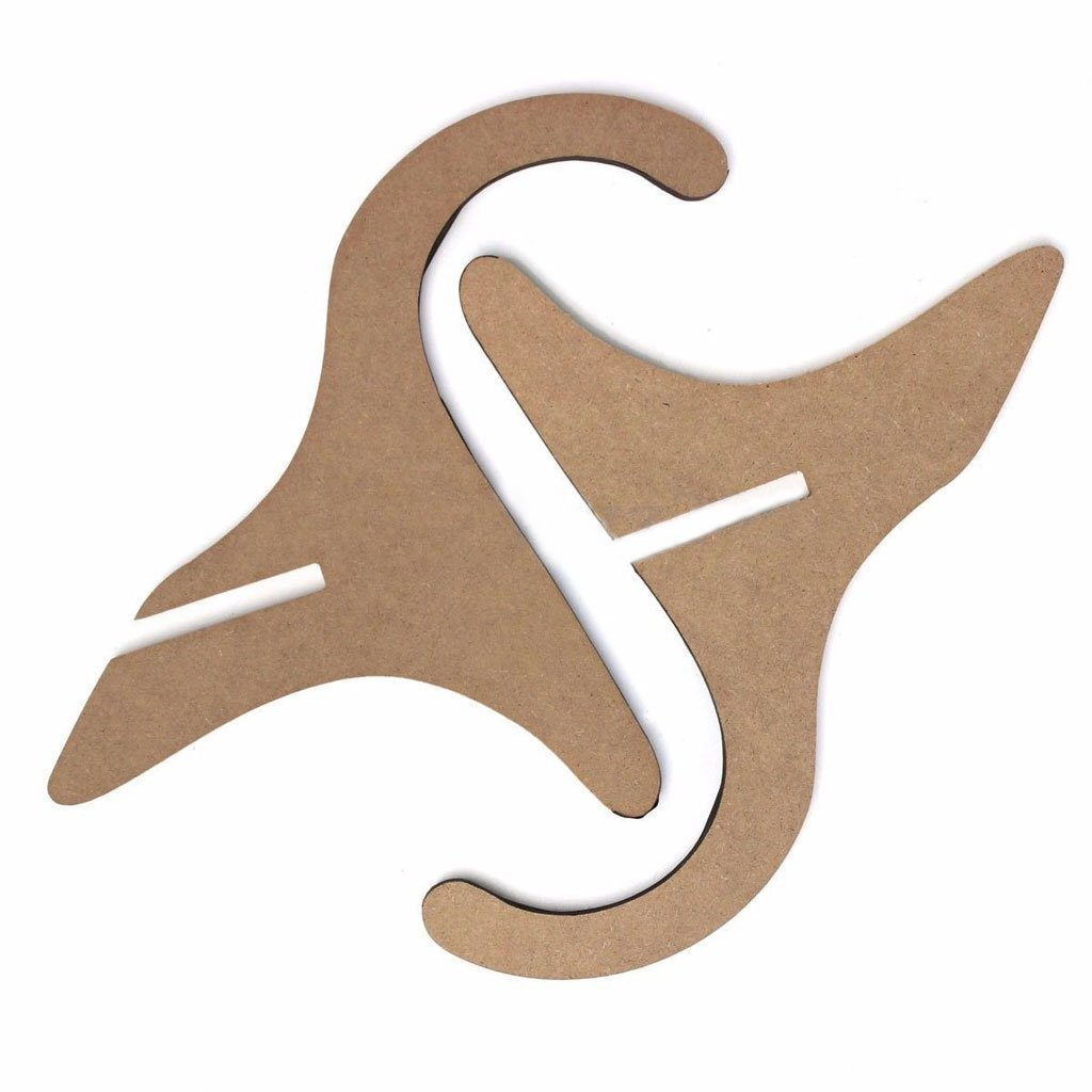 Timiy Wooden Foldable Musical Instrument Stand for Guitars,Violin,Ukulele 1Pcs by Jinhui Direct (Image #3)