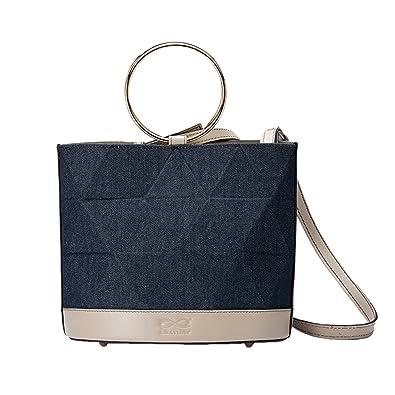 c8bb5894c3298 LEATURY Women for Handbag Fashion Designer Shoulder Bag Bucket Bag  Messenger Bag Wallet