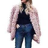 Fanxing Damen Winterparka Mode Sexy Warme Duffle Kunstpelz Langarm Solide Jacke  Tops Mantel Jacken fed2d013c3