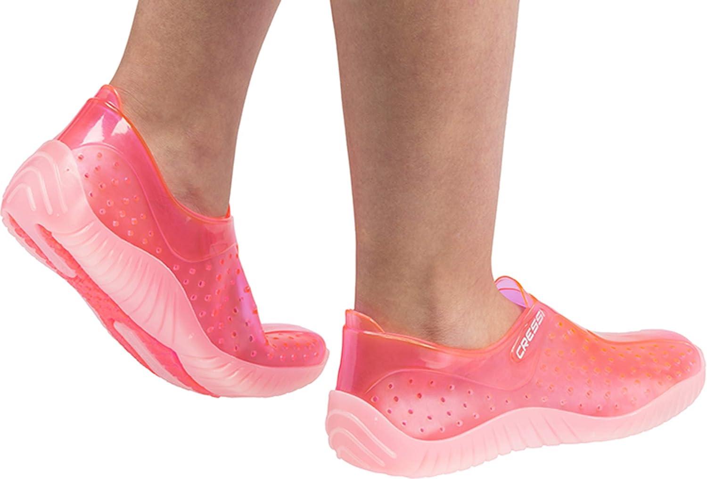 Cressi Water Shoes Escarpines para todo tipo de deportes Acu/áticos Adultos  y Ni/ños Unisex