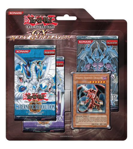 - YuGiOh GX Card Game Generation Next SE Special Edition Pack [White Horned Dragon Card]