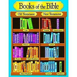 Trend Enterprises Books of The Biblelearning Chart (T-38702)