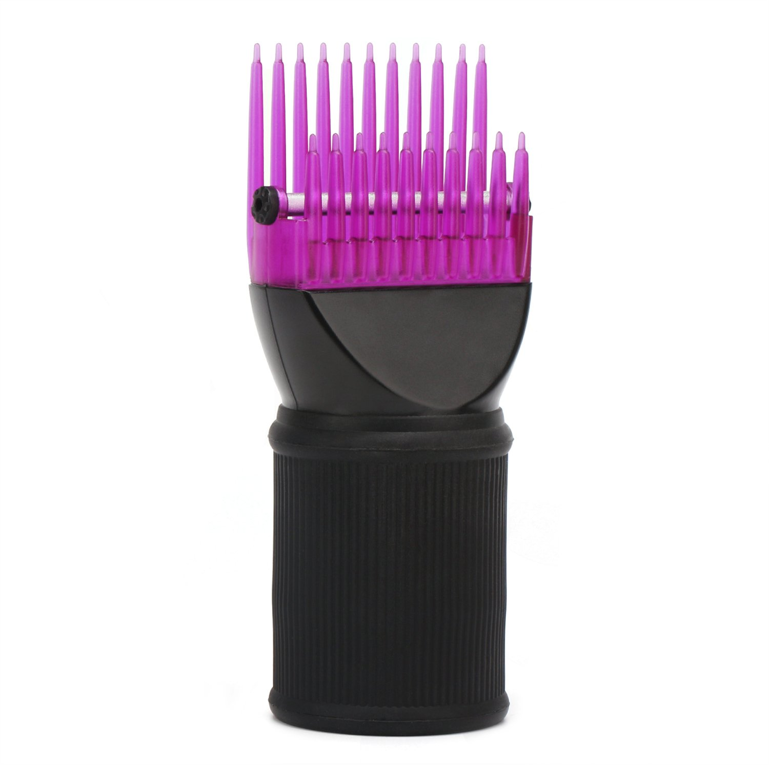 Hair Dryer Comb Attachment, Segbeauty Hair Blower Concentrator Nozzle Brush Attachments, Hairdressing Styling Salon Tool Pic for Fine, Wavy, Curly, Natural Hair