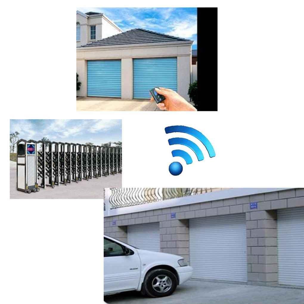 Pigupup Control Remoto inal/ámbrico de 4 Canales de RF 433 MHz Puerta Puerta autom/ática Mando a Distancia Llave Fob