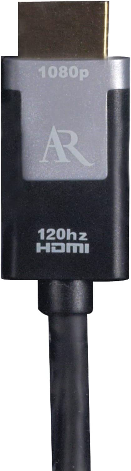 12 Feet Discontinued by Manufacturer Acoustic Research ARSH12 Silver Series HDMI Cable