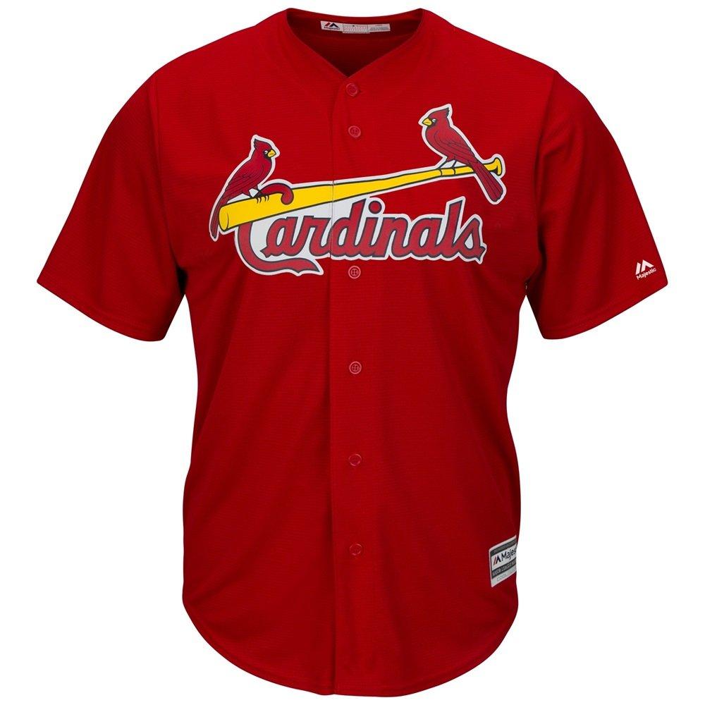 Majestic MLB St, Louis Cardinals Cool Base u.bsv Alternate rosso